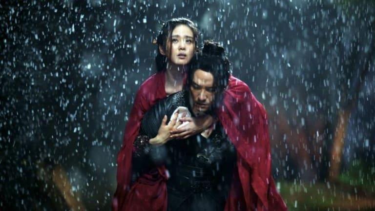 Swashbuckling: Cecilia Liu and Chang Chen in <i>Brotherhood Of Blades</i>.