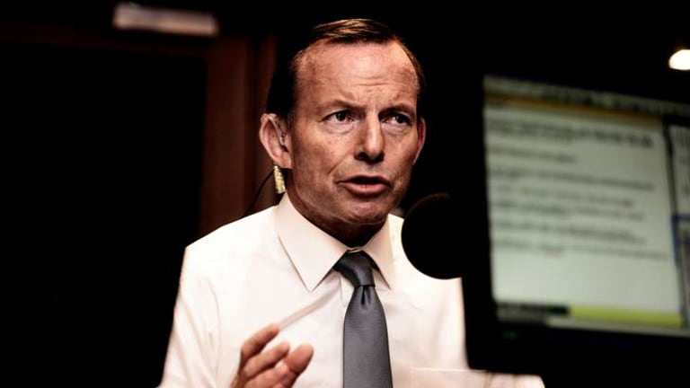 Prime Minister Tony Abbott speaking on 3AW on Wednesday