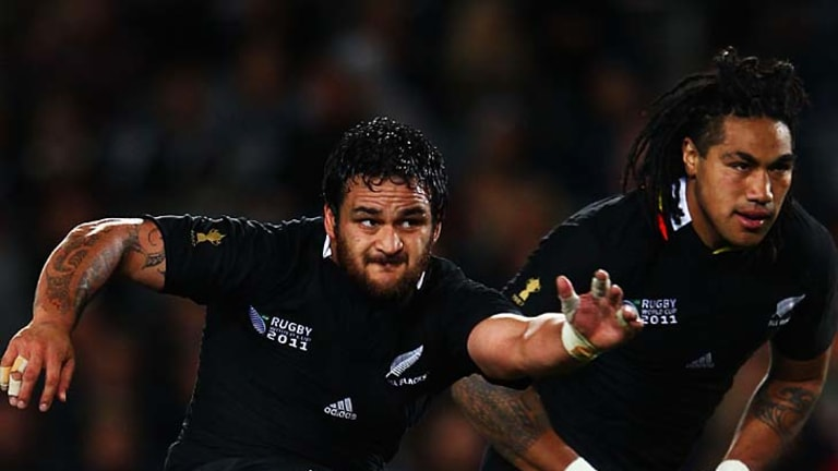 Piri Weepu of the All Blacks kicked seven penalty goals.