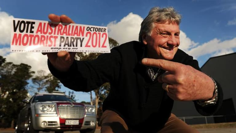 Former head of Summernats Chic Henry will be part of the Australian Motorist Party in the October 2012 election.