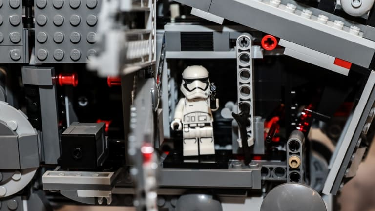 One of the new Star Wars Lego sets released last week.