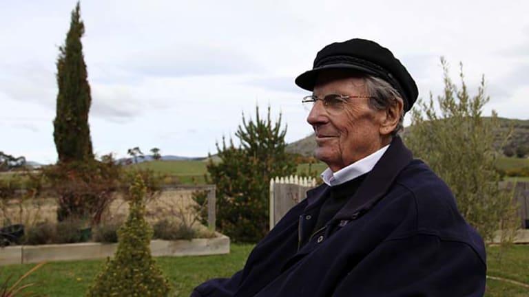 Voluntary exile ... Christopher Koch enjoys the solitude of living outside Richmond, Tasmania.