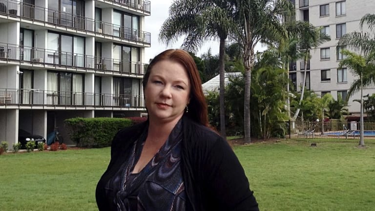 Bricks and mortar: Financial adviser Amanda Cassar pooled super funds with her husband to buy an investment unit on the Gold Coast.