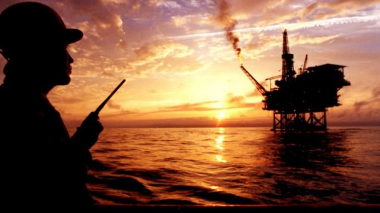 Murky waters: A Chinese oil platform in the South China Sea.