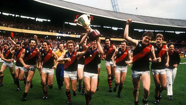 The last team to kick nine goals in the final quarter of a VFL/AFL grand final was Essendon, who booted 11.3 to 3.3 in the final quarter of the 1985 decider. The Bombers were also the last team to come from behind at three quarter time in a grand final, and kick nine goals - in 1984.