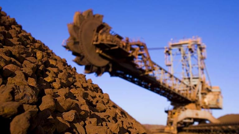 Mining is driving growth in the economy.