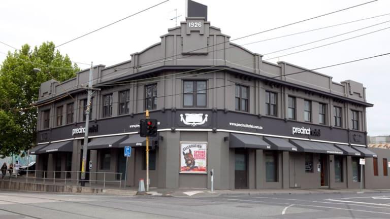 Darcy's latest venture, the Precinct Pub