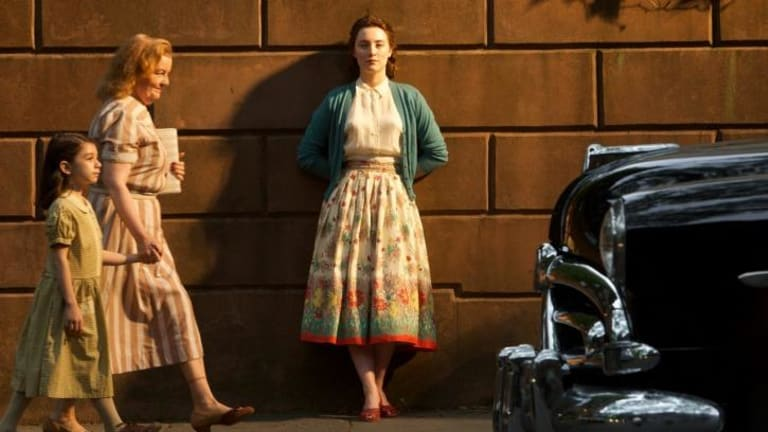 Saoirse Ronan is convincing in the film <i>Brooklyn</i>.