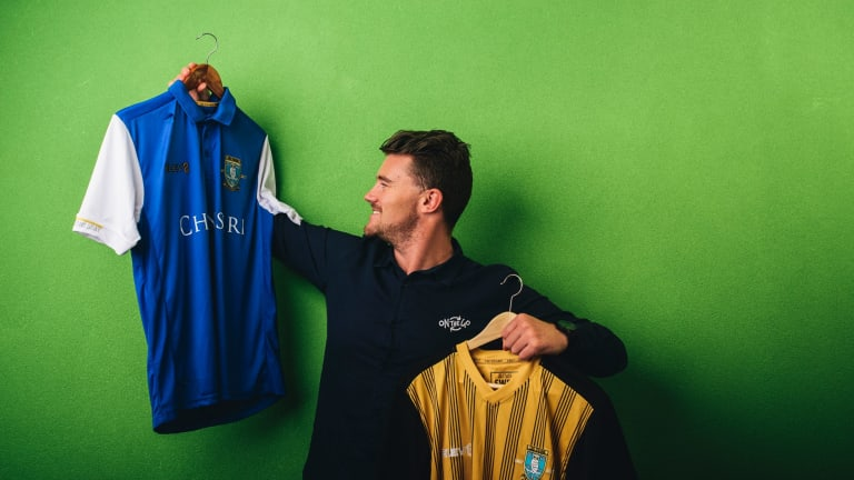 Mick Spencer, founder of Canberra sportswear company On The Go, which has secured the contract to kit out English Premier League team Sheffield Wednesday.