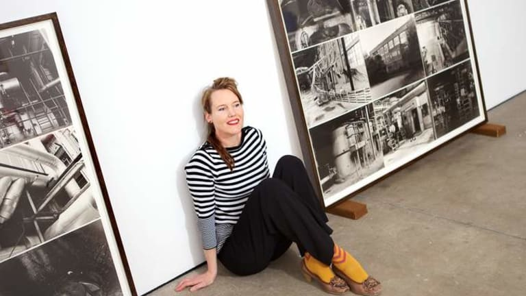 Jane Brown is one of six young artists paying tribute to Wolfgang Sievers.