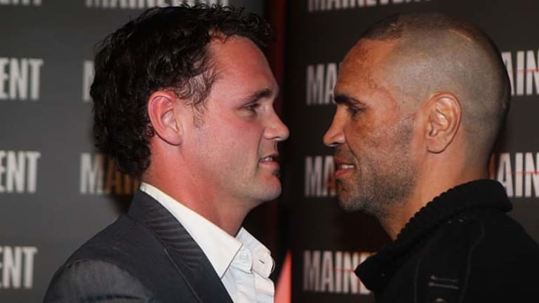Native title ... champion boxer Daniel Geale's antecedents were questioned by his challenger Anthony Mundine.