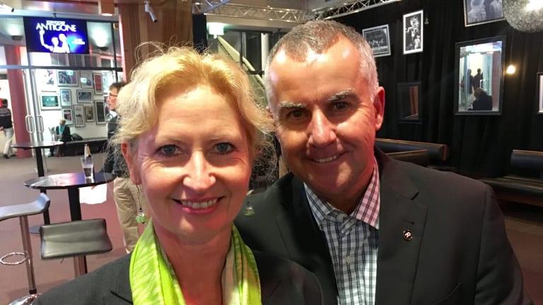 Dorte Ekelund and husband Jeremy Lasek plan to stay in Canberra.