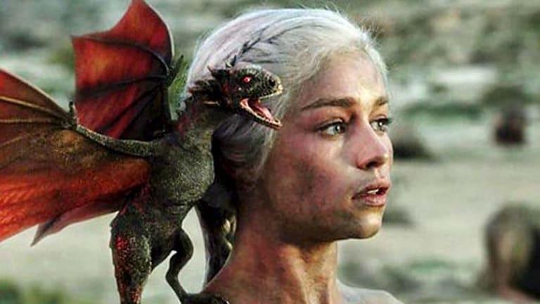 Pop-culture sensation ... Emilia Clarke plays Daenerys Targaryen.
