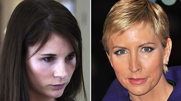"""""""More than capable of lying"""" ... Sara Trundle, left, is suing Heather Mills."""