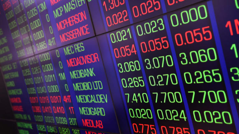 Australian shares lifted today, following the lead of US stocks.