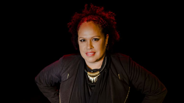 Fly. 12th August 2015. Christine Anu will be performing favourite songs including new songs from her most recent album, ReStylin' Up, at The Street Theatre on August 28.  The Canberra Times  Photo Jamila Toderas