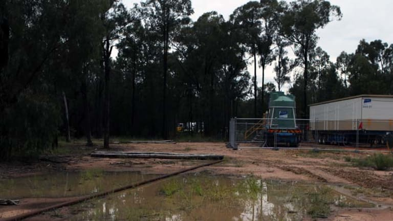 Fuelled concern ... a coal seam gas operation site in the Pilliga.