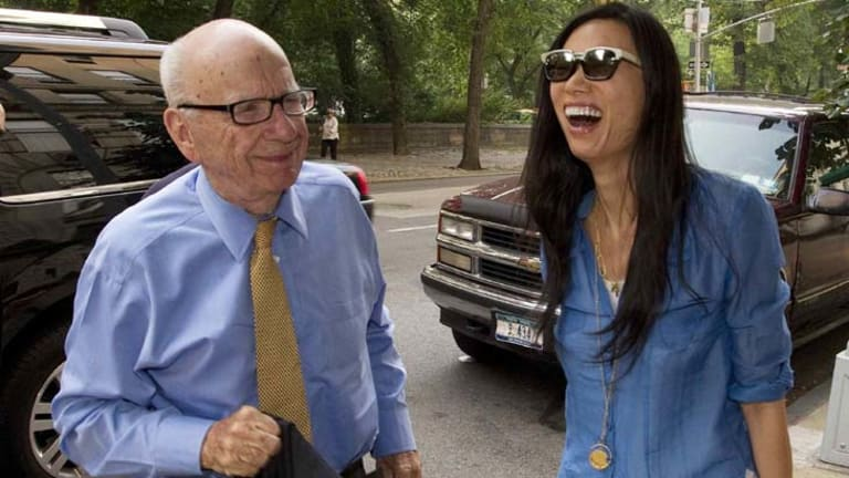 Unlikely to call it quits ... Murdoch is one of the few proprietors who believes in newspapers.
