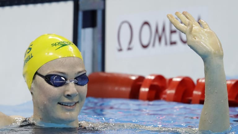 Australia's Cate Campbell.
