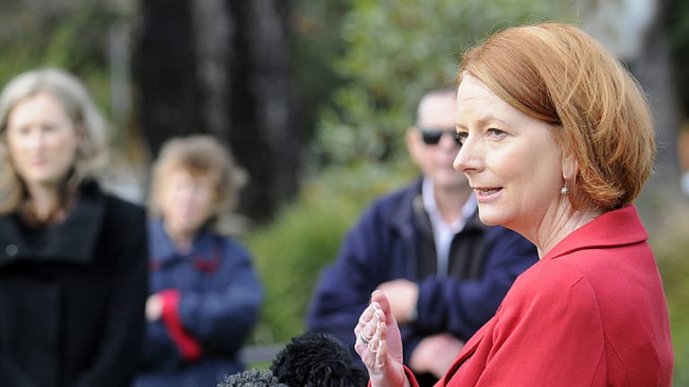 Prime Minister Julia Gillard's disapproval rating has risen three points to 62 per cent in the latest Age/Nielsen poll.