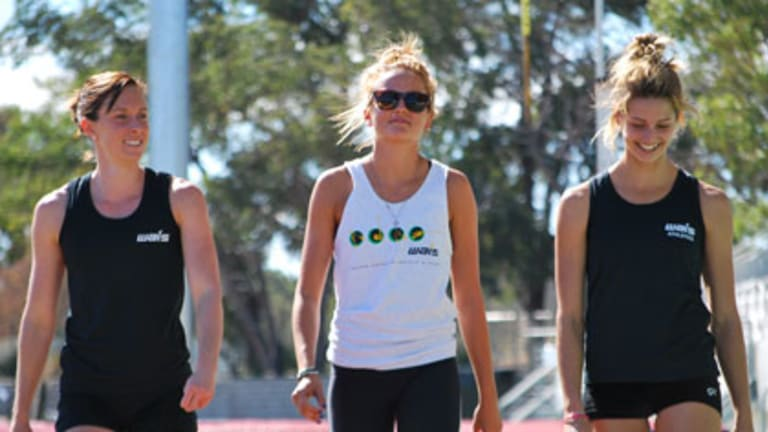 Alana Boyd, Liz Parnov and Amanda Bisk will all compete at the Commonwealth Games.
