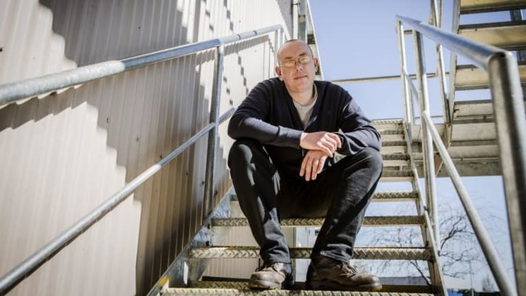 Intense fictional range: Goulburn author Nigel Featherstone.