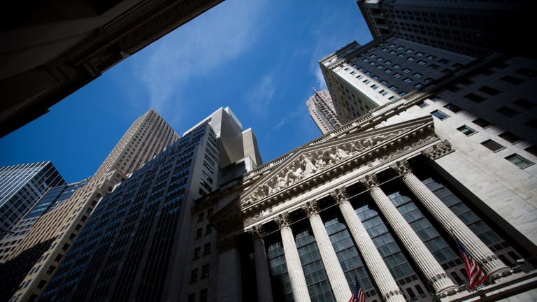 Wall Street where the financial crisis began almost 10 years ago.