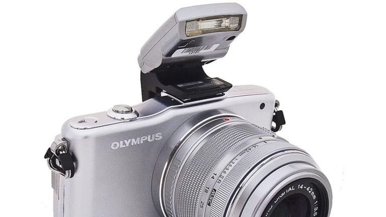 Olympus E-P3.
