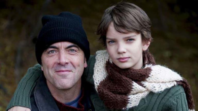 Last days ...  Connor (James Nesbitt) and son Finn (Kodi Smit-McPhee).