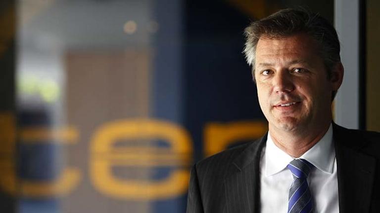 Midlife crisis ... Ten chief executive James Warburton.
