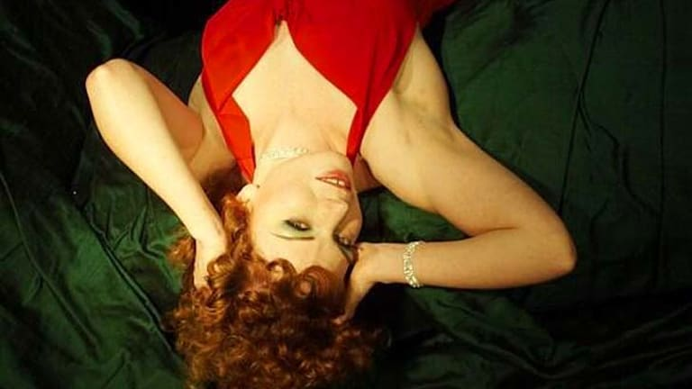 Why fake it when you can make it? Cabaret performer, La Petite Mort pictured.