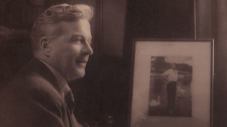 Crowning glory ... Adelaide-born Lionel Logue helped King George VI overcome a chronic stammer.