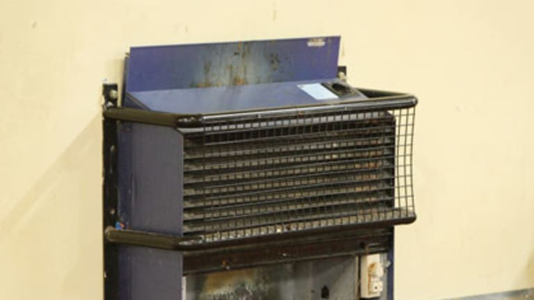 Fumes emitter ... one of 51,000 unflued heaters in NSW schools.