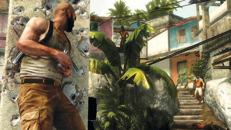 A screenshot from <em>Max Payne 3</em>.