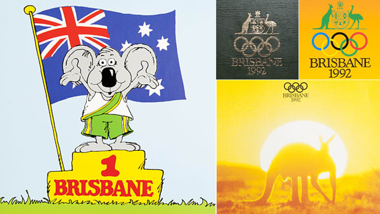 A collection of the imagery included in Brisbane's 1992 Olympic Games bid.