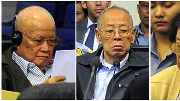 Former Khmer Rouge head of state Khieu Samphan, former foreign minister Ieng Sary, and former social affairs minister Ieng Thirith, will still be tried.