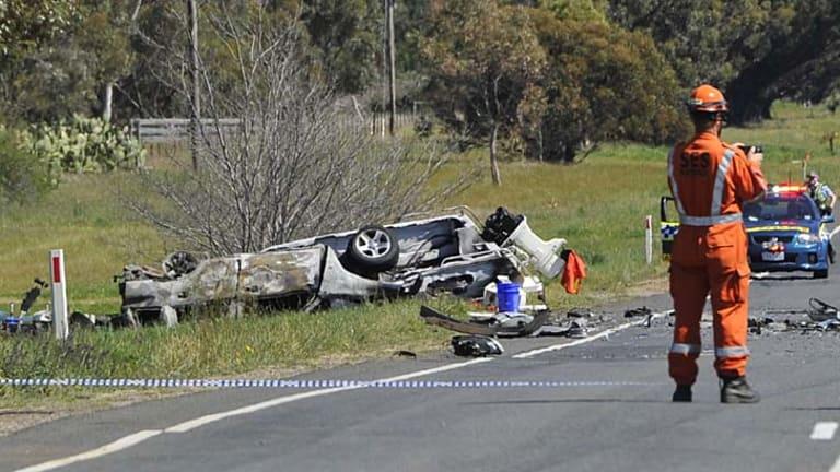 Balliang Geelong Road fatality.