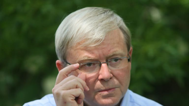 Prime Minister Kevin Rudd's slight fall in popularity recently has proven to be a statistical blip.