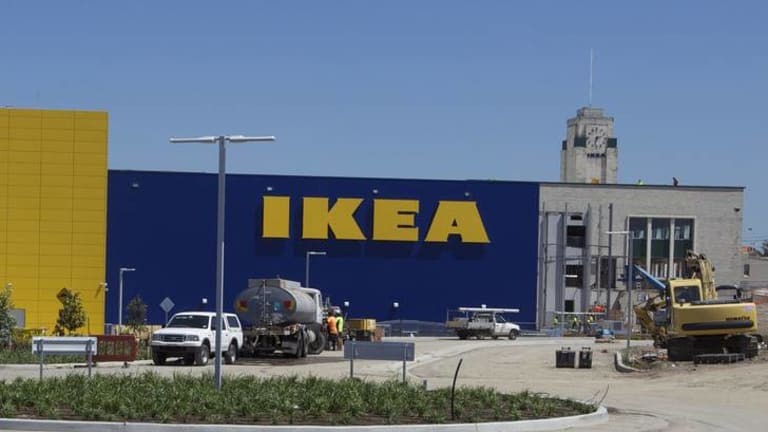 Opening of the IKEA Australia store in Tempe, south of Sydney in 2011, is the largest in the southern hemisphere.