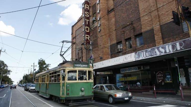 The Astor theatre.