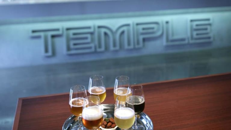 Temple Brewery.
