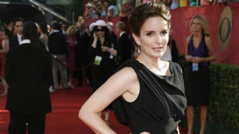 Tina Fey transforms for the red carpet.