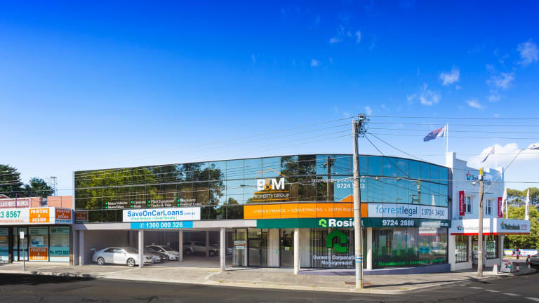 The multi-tenanted office building at 4-6 Croydon Road was bought for $1,745,000 via a self-managed super fund.