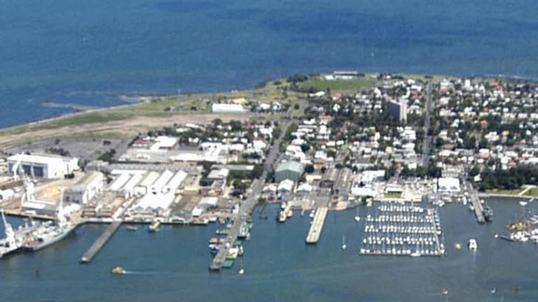Too cosy: Mobil warning over new Williamstown development.