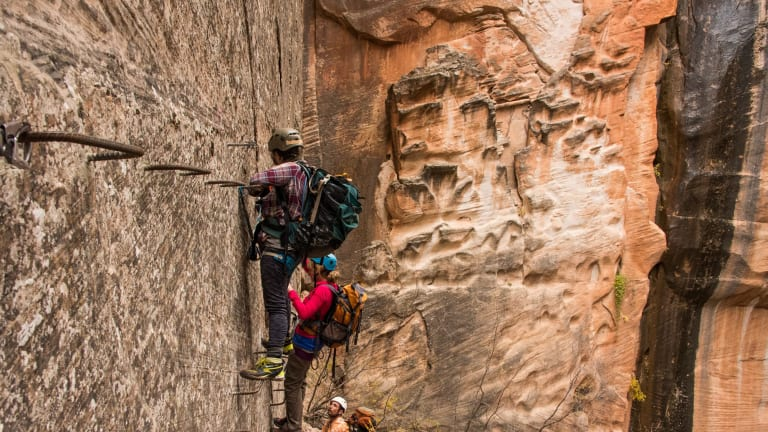 The Eye of the Needle offers a unique and spectacular canyoneering experience.