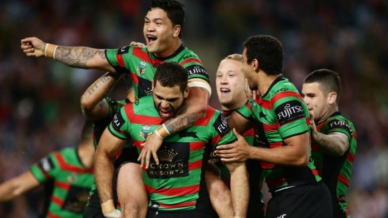 On the verge of the greatest comeback in Australian sport: The Rabbitohs.