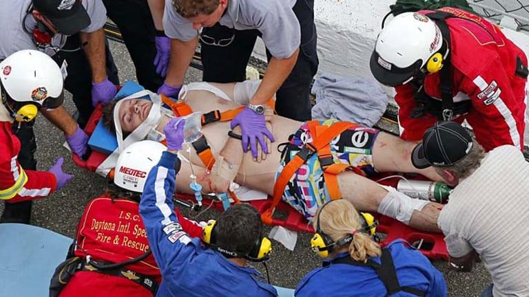 Spectator Injured At Sprint Car Race