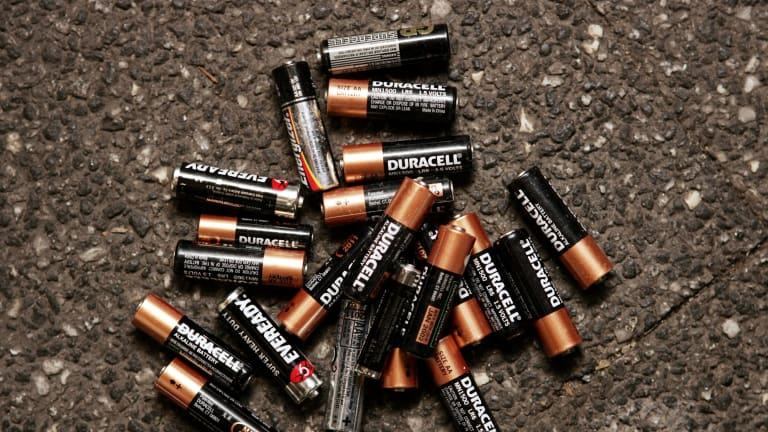 Single use batteries are wasteful.