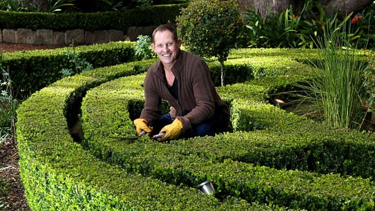 A touch of topiary with Todd McKenney.