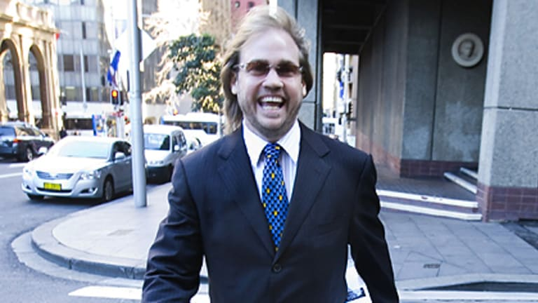 Under examination ... ABC Learning founder Eddy Groves outside NSW Federal Court last year.